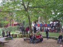 Schulhof der Grundschule St. Josef