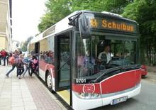 Schulbuslinie in die Weststadt